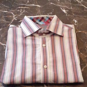Thomas dean dress shirt